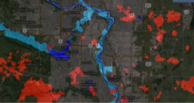 Satellite  Flood  Footprint